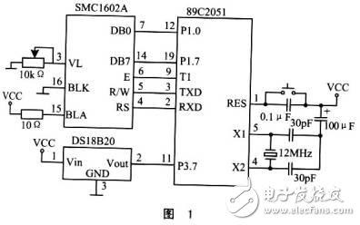 液晶显示温度计电路设计解析—电路图天天读(262)