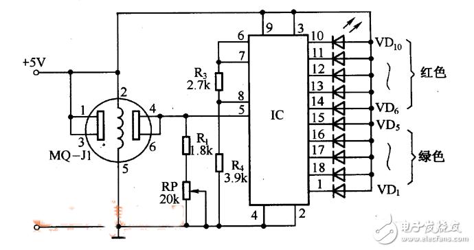 便携式酒精测试仪电路设计
