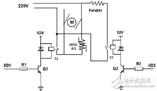 豆浆机应用电路图