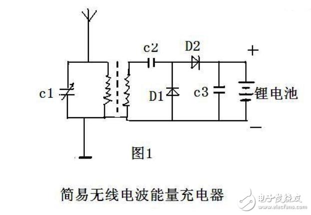 电磁波无线充电电路设计图
