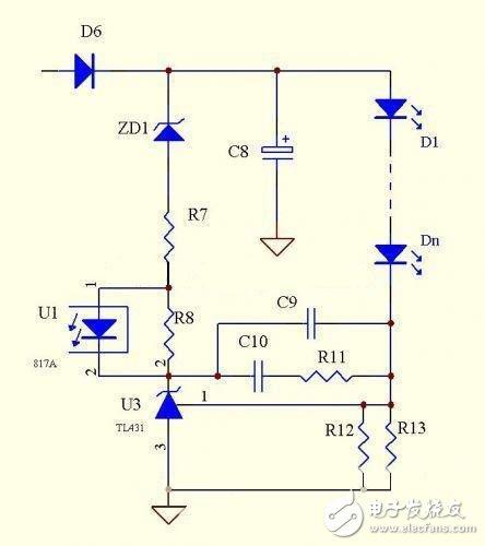LED电源次级恒流经典电路攻略TOP6 电路图天天读 121图片