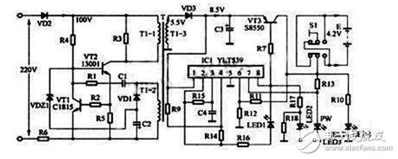 手机万能充电器电路原理解析—电路图天天读(279)