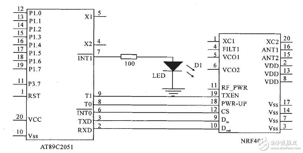 无线病房呼叫系统连接器电路设计详解