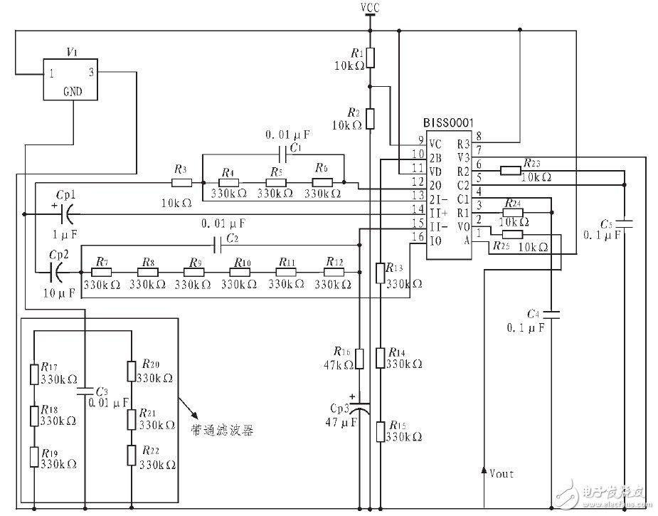 热释人体红外模块温度采集系统电路设计
