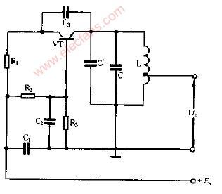 电容式话筒调频电路图