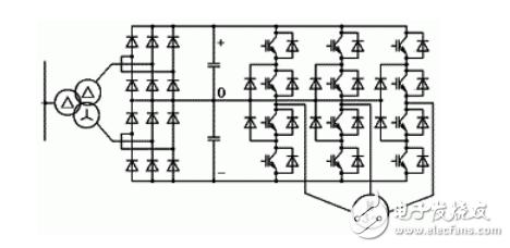 变频器控制电路设计及其原理分析