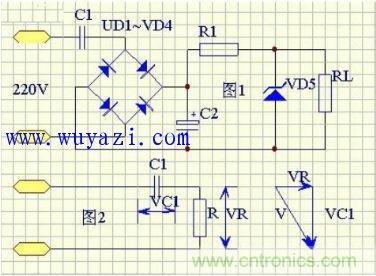 如何选择电容降压元件