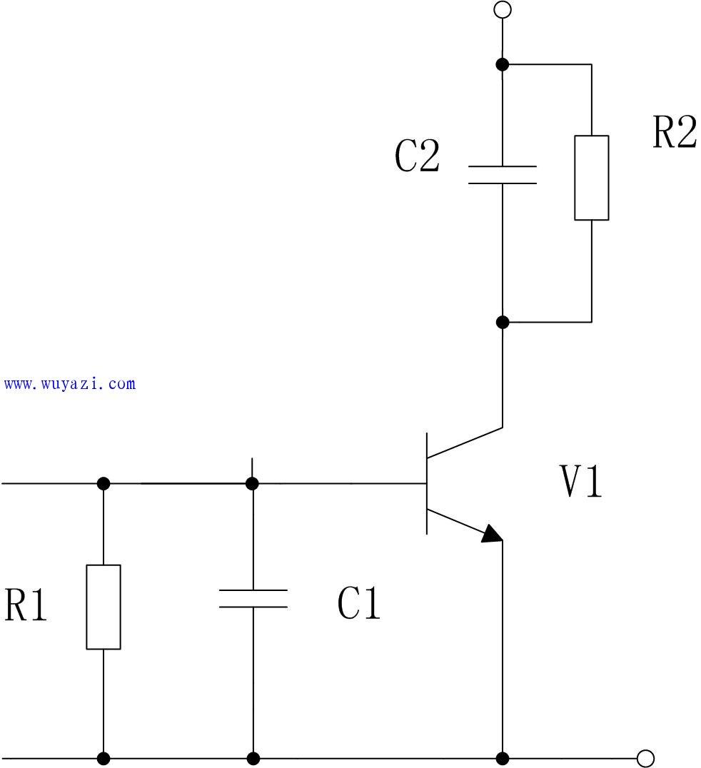 简单电路图-AGC 电路图片