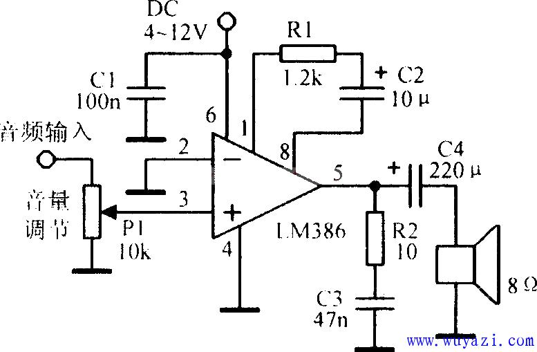 基于LM386的应用电路大全