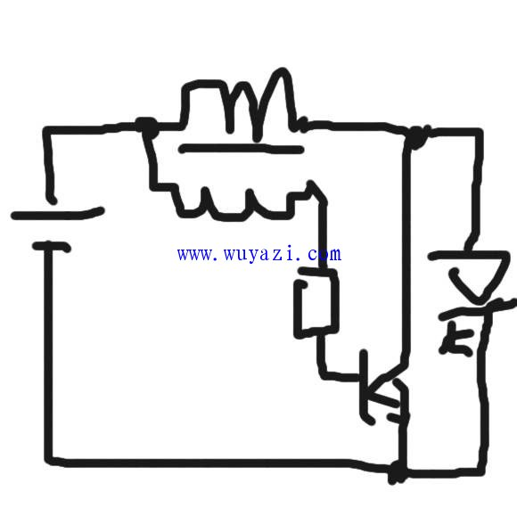 电路 电路图 电子 简笔画 手绘 线稿 原理图 580_570