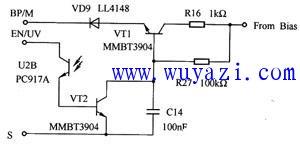 可选过流保护(OCP)电路图