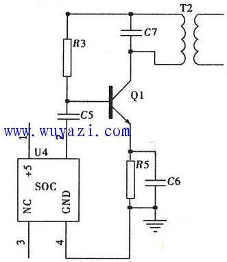 充电器电路模块电路图