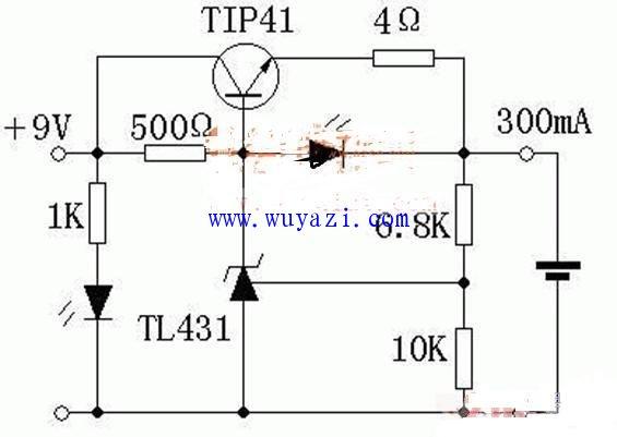简单实用的锂电充电器电路图图片