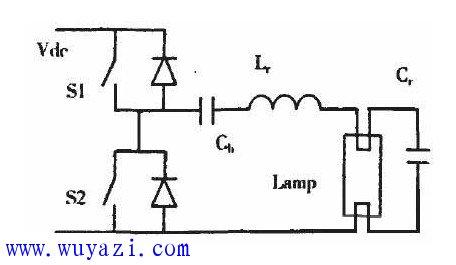 简单的电子镇流器原理电路图图片