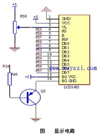 超低功耗LCD液晶显示电路模块设计图
