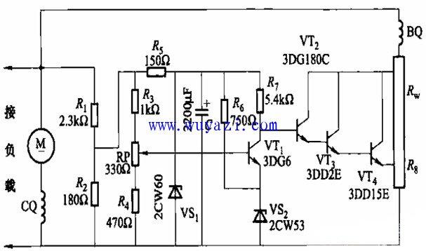 电源降压控制电路模块电路图 -电源管理电路图图片