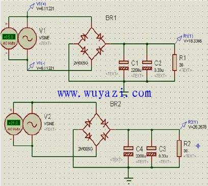 稳压电源设计电路图