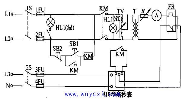常用的热继电器检测仪电路图