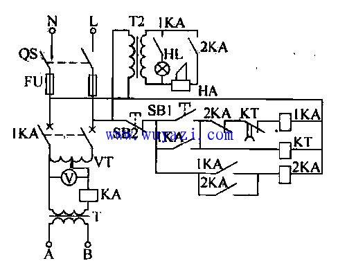 一款绝缘耐压检测仪电路图