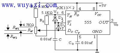 555定时器内部框图及电路工作原理