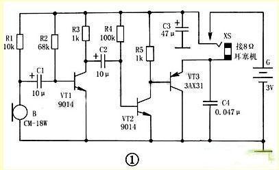 助听器工作电路原理介绍
