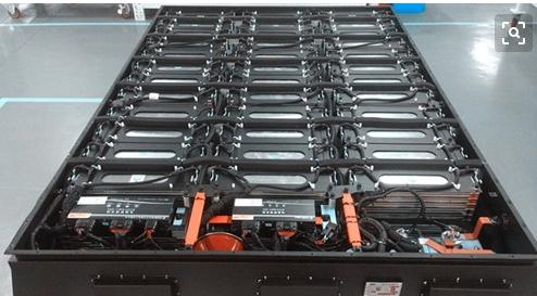 动力电池包内部结构