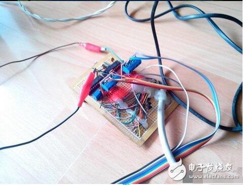 基于89c2051设计一个简单的激光雕刻机(带C语言程序)