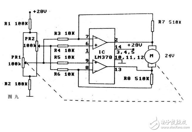 电机驱动电路的作用与电路原理图