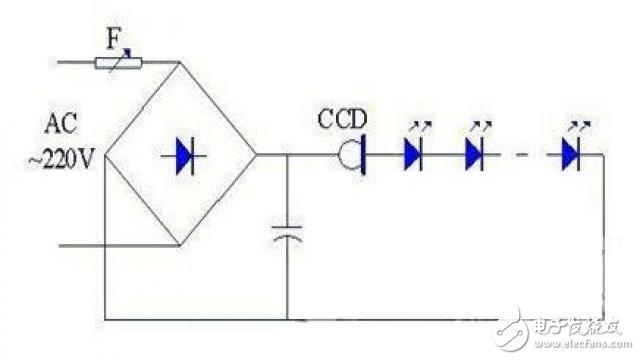 LED球泡灯内部驱动电源分析