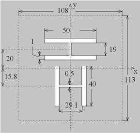 一种UHF频段高极化隔离度双极化RFID读写器cad图元不插入全图纸图片