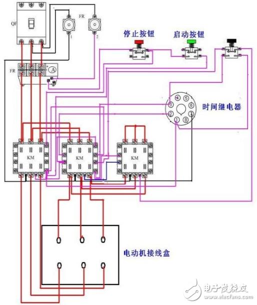 4 顺停,逆停循环               8 时间继电器控制双速电机