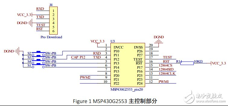 基于MSP430的控制电机并测速度系统设计与调试