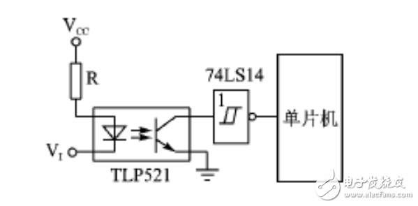 图4 输入端光耦隔离-驱动与隔离电子电路设计集锦 电路图天天读 183图片