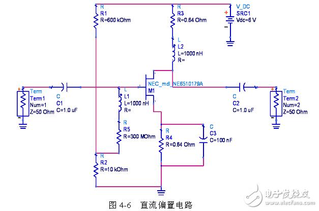射频前端功率放大偏置电路模块
