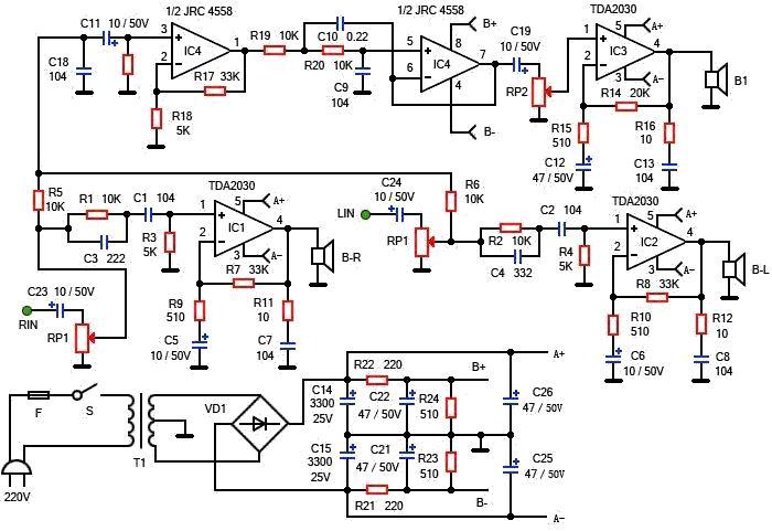 电路 电路图 电子 原理图 700_481