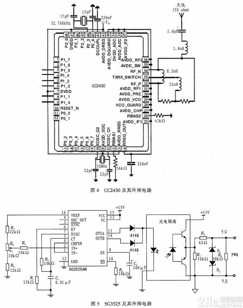 基于zigbee网络的led调光灯具的设计图片