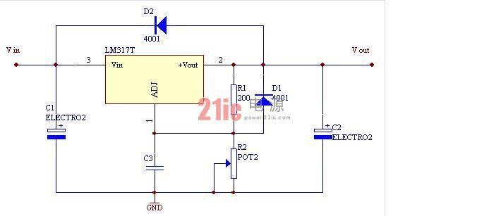 5v/12v线性稳压电源(原理)-其他电源电路图-电子产品