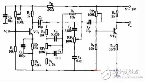 最简单音调电路图大全 八款模拟电路设计原理图详解图片