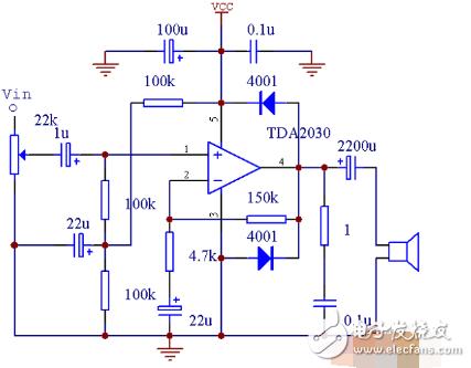 最简单的12v功放电路图 四种功放电路图详解