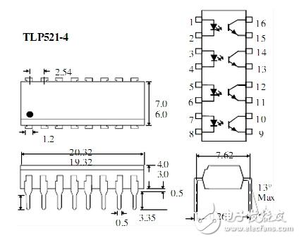 >光电耦合直流控制电路及其应用    通常选择tl431结合tlp521进行