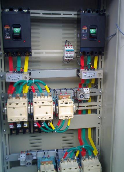 星三角降压启动电路图实物接线图-电动机电路图-电子