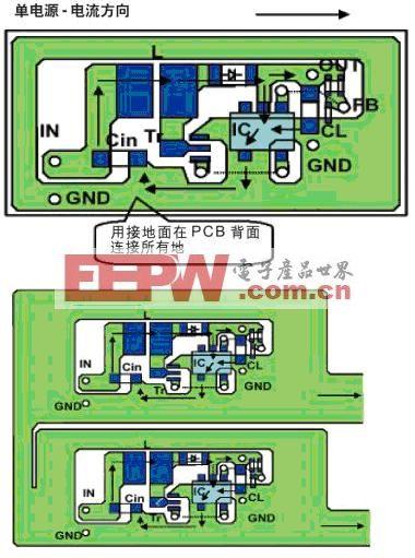 DC/DC转换器设计中接地线的布线技巧
