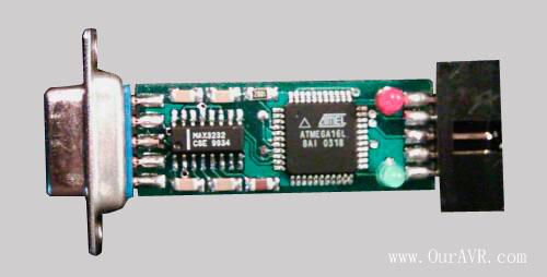 自已动手制作AVR仿真器