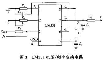 LM331电压/频率变换电路
