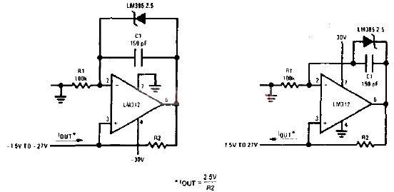 1A-1mA精密电流源电路
