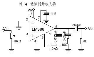 LM386低电压音频功率放大器图片