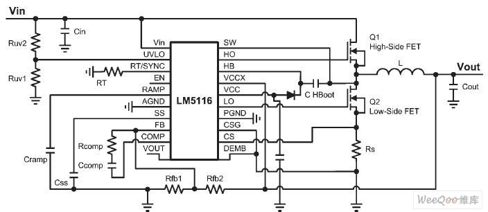 同步降压稳压器电路图图片