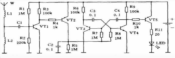 手机感应器―900MHz射频指示器