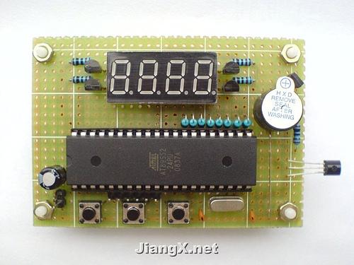 DIY高精度温度控制器-AT89S51-AT89S52
