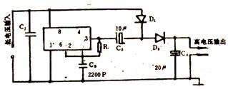 电路/直流升压器的电路图如图39/4所示。图39/4